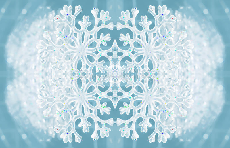 Texture d'hiver avec le flocon de neige illustration de vecteur