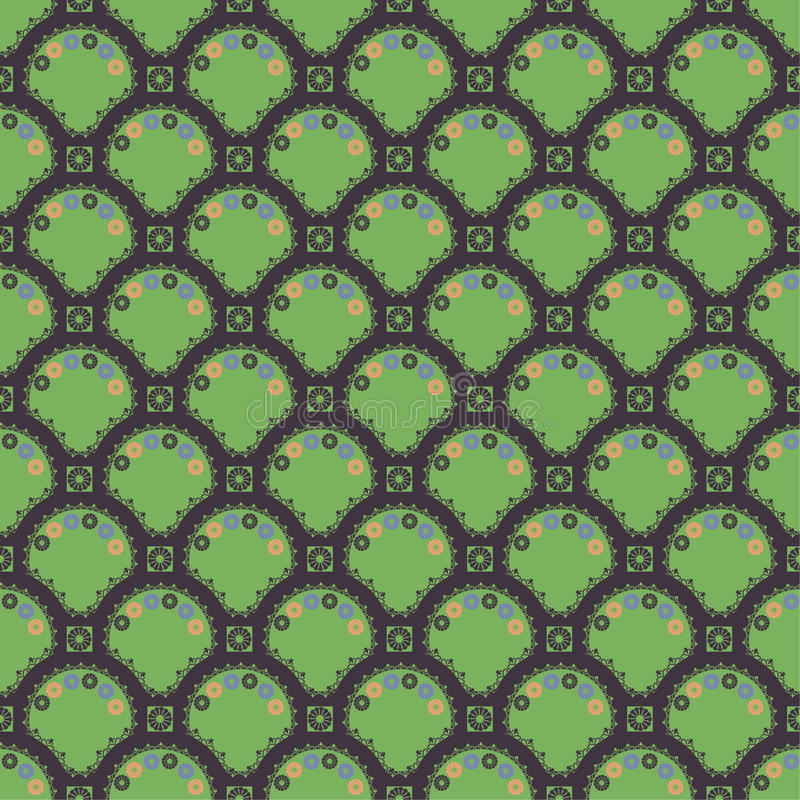Texture d'oriental de configuration illustration libre de droits