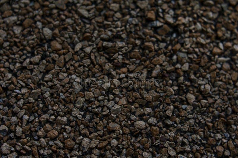 Texture d'un bardeau foncé de toiture photo stock