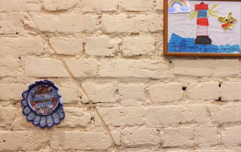 Texture d'un mur de briques images libres de droits