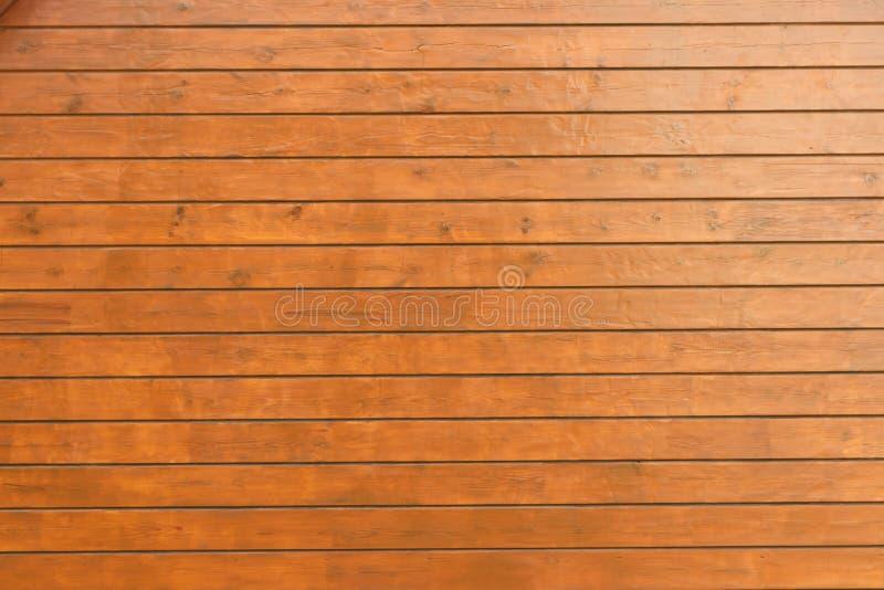 Texture d'un mur en bois d'une barre image stock