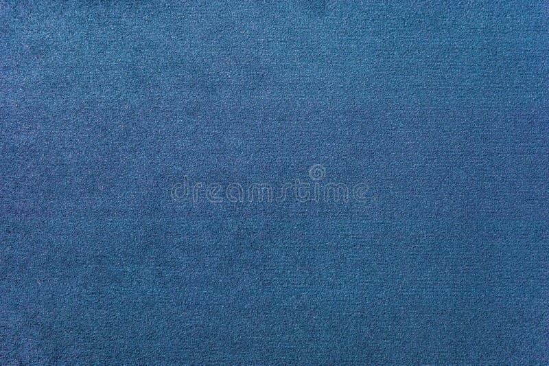 Texture D Un Tapis Bleu Fonce Plan Rapproche De Lumiere De