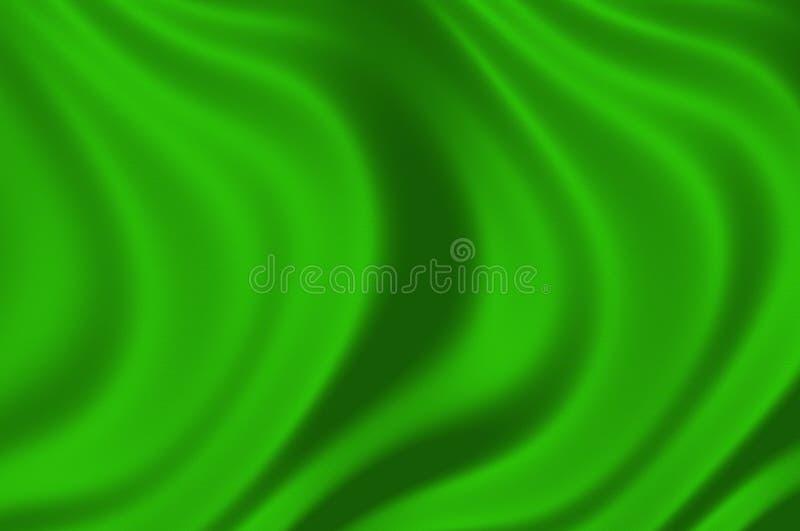 Texture d'une illustration en soie verte illustration de vecteur