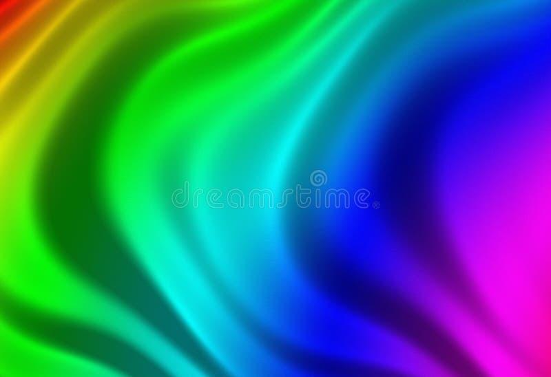 Texture d'une soie multicolore illustration stock