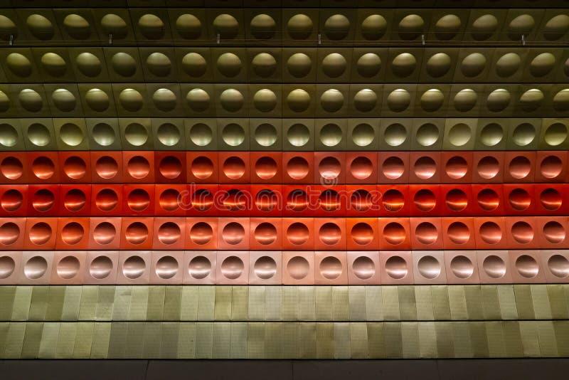 Texture dans la décoration des murs images stock