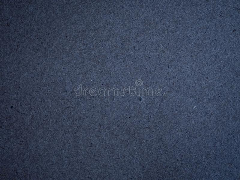 Texture of dark blue crumpled craft paper. royalty free stock photo