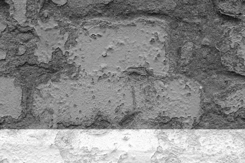 Texture of dark gray concrete wall for background stock photos