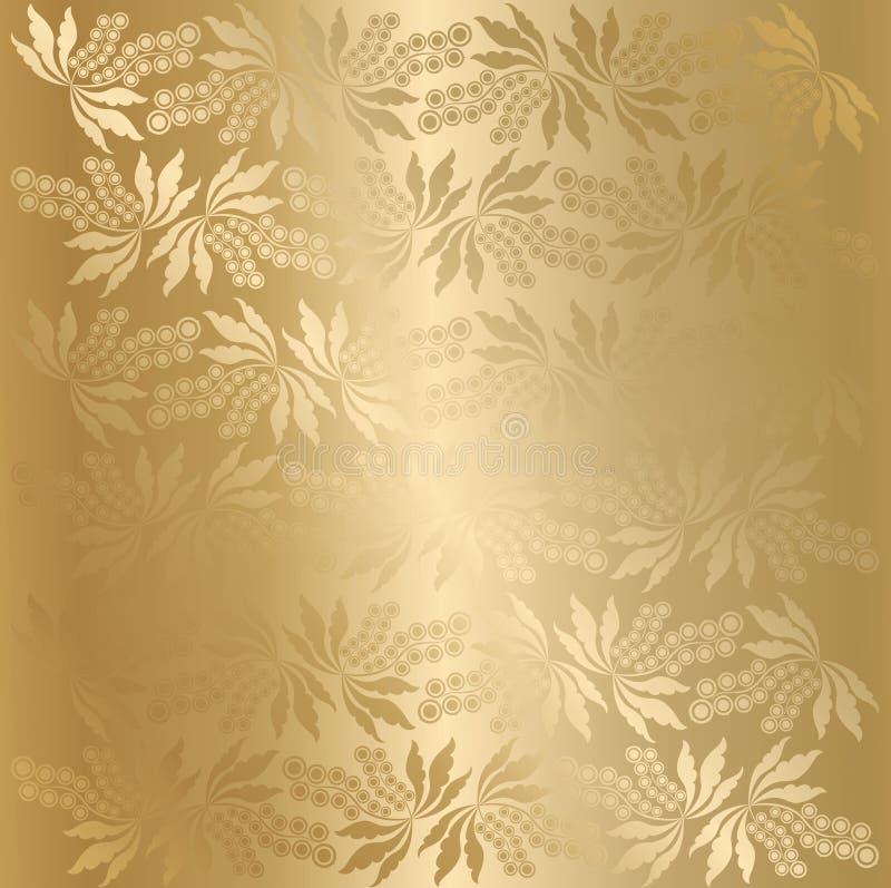 Texture de baie de vecteur (d'or) illustration de vecteur