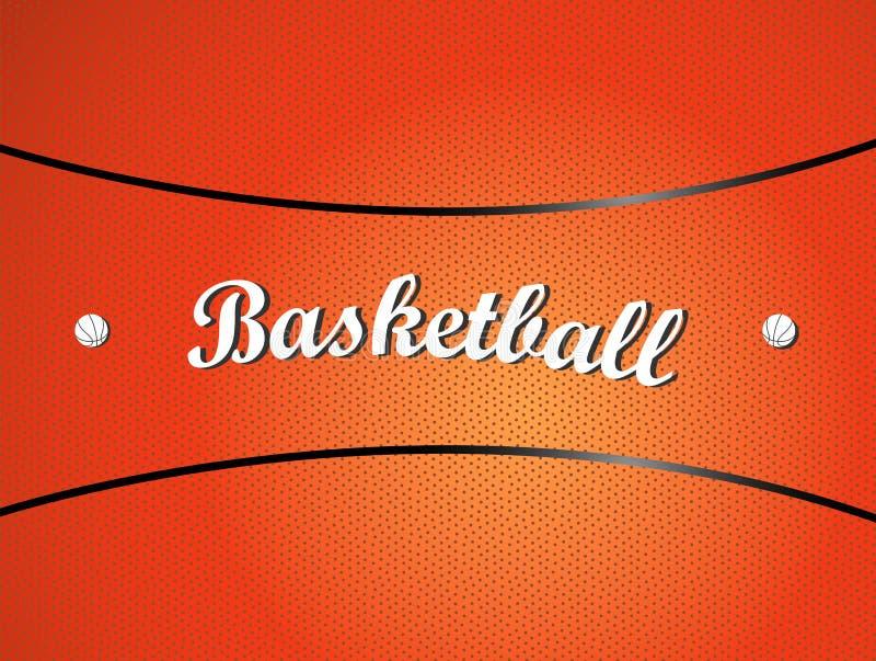 Texture de basket-ball illustration stock