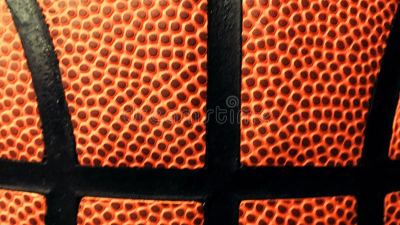Texture de basket-ball, la Manche Art Banner de Youtube photos stock