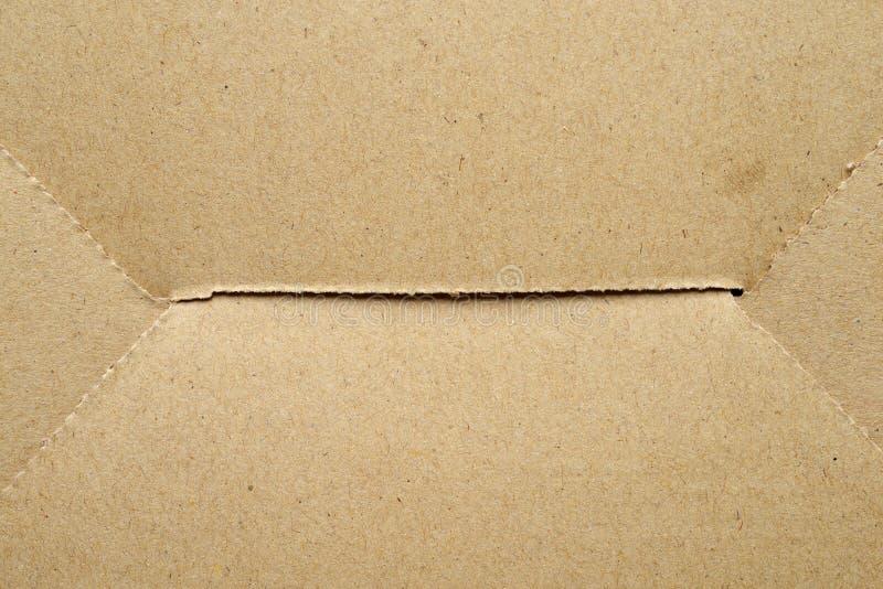 Texture de boîte en carton image libre de droits
