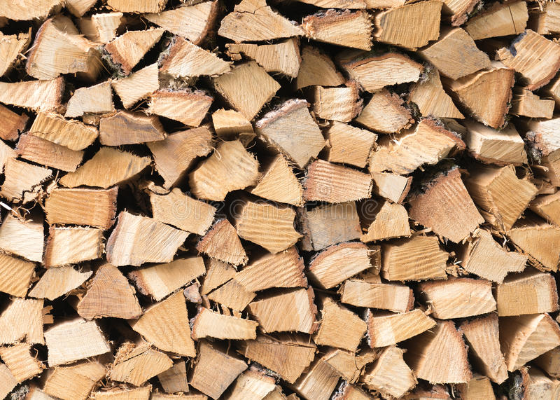 Texture de bois de chauffage images libres de droits