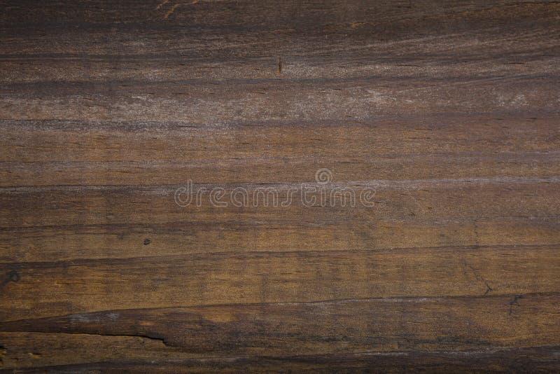 Texture de bois dur et fond foncés de grain en bois image stock