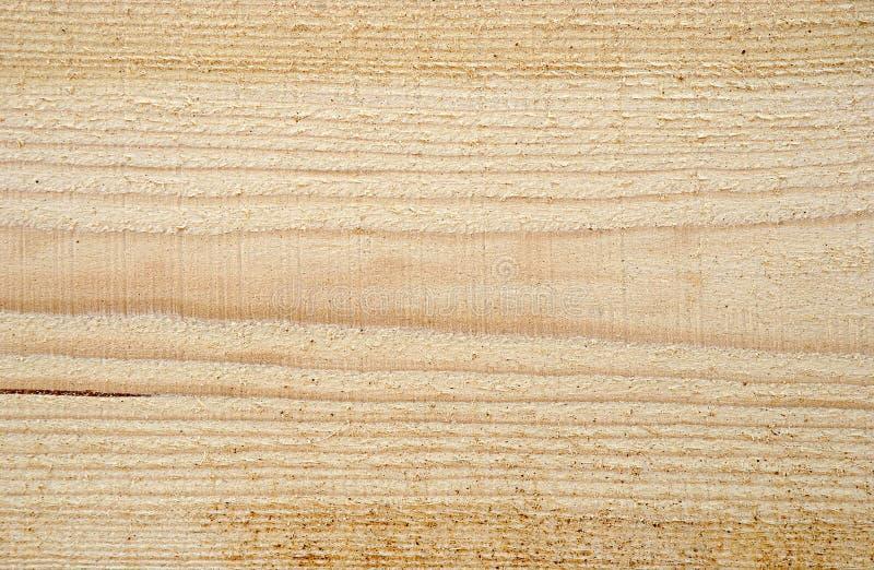 Texture de bois fraîchement scié, fond, image stock