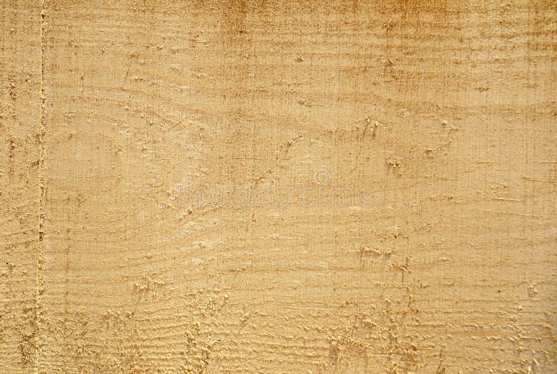 Texture de bois fraîchement scié, fond, plan rapproché photos stock