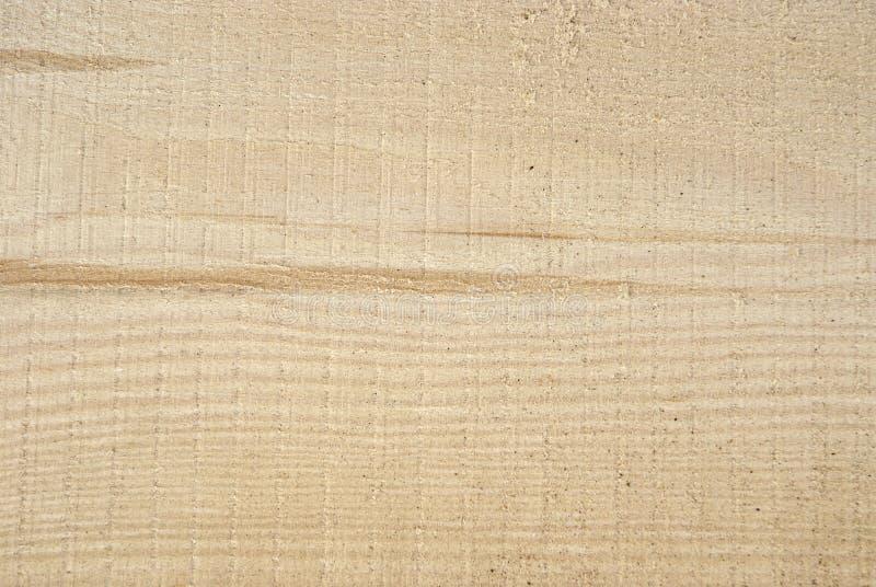 Texture de bois fraîchement scié, fond, plan rapproché image stock