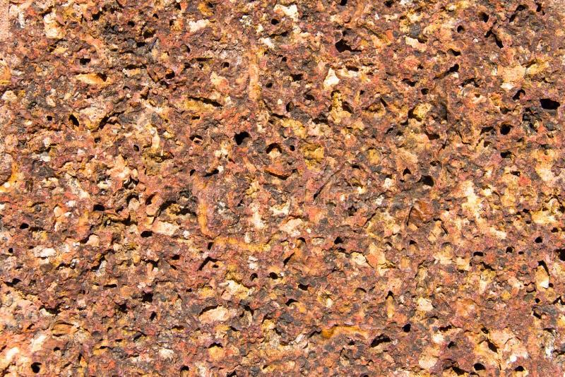 Texture de brique de latérite photo stock
