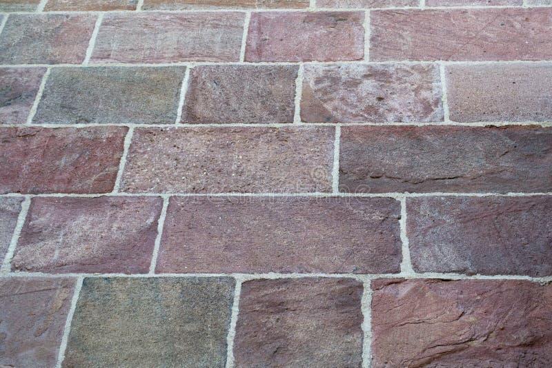 Texture de brique rouge images stock