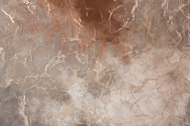 Texture de brun fonc? Fond color? Mur color? photo stock