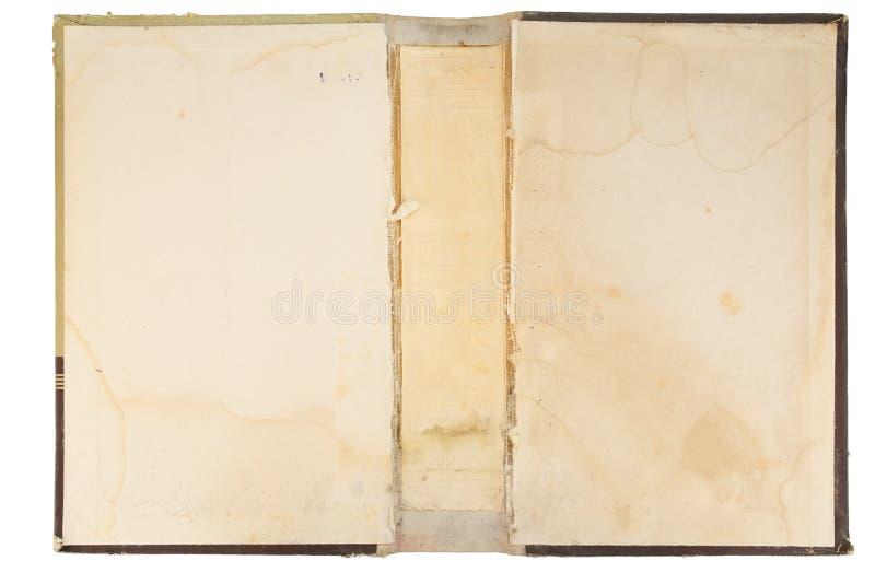 Texture de cache de vieux livre image stock