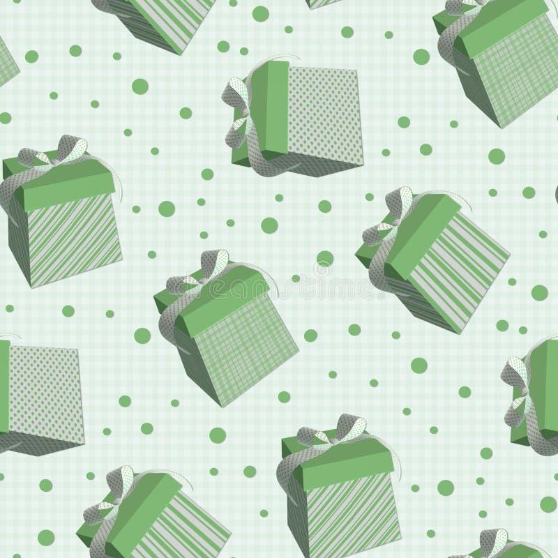 Texture de carrelage avec les cadres verts illustration for Point vert carrelage