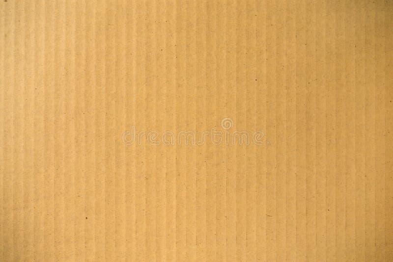Texture de carton ondulé images libres de droits