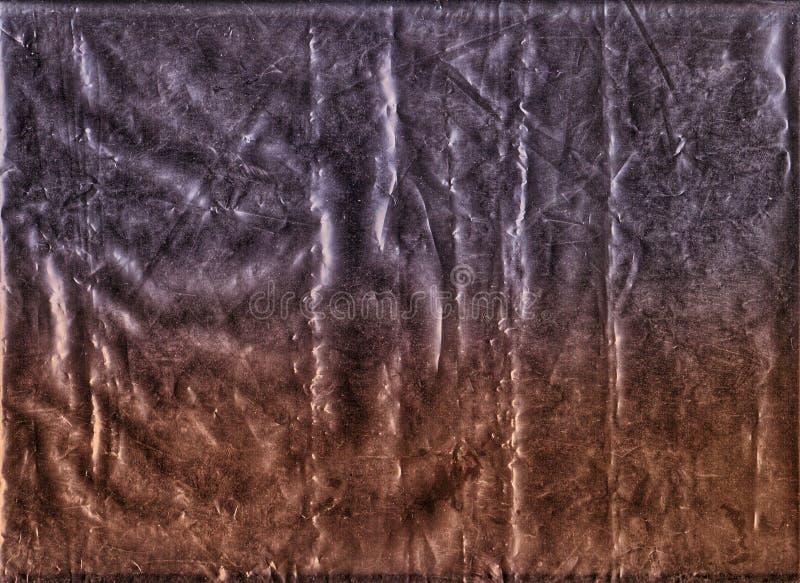 Texture de cellophane image stock