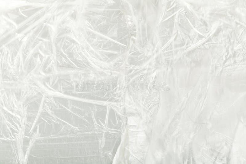 Texture de cellophane photo stock