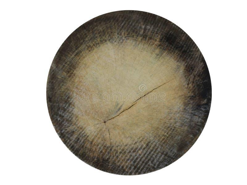 Texture de cercle en bois photographie stock