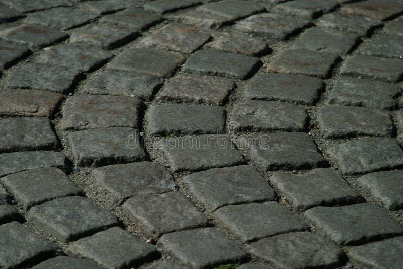 Texture de chemin de pavé rond image libre de droits