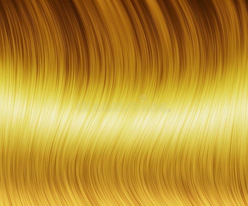 Texture de cheveux blonds illustration libre de droits