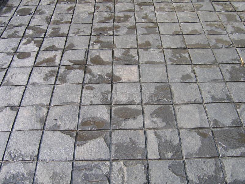 Texture de ciment comme fond dans la maison avant photos libres de droits