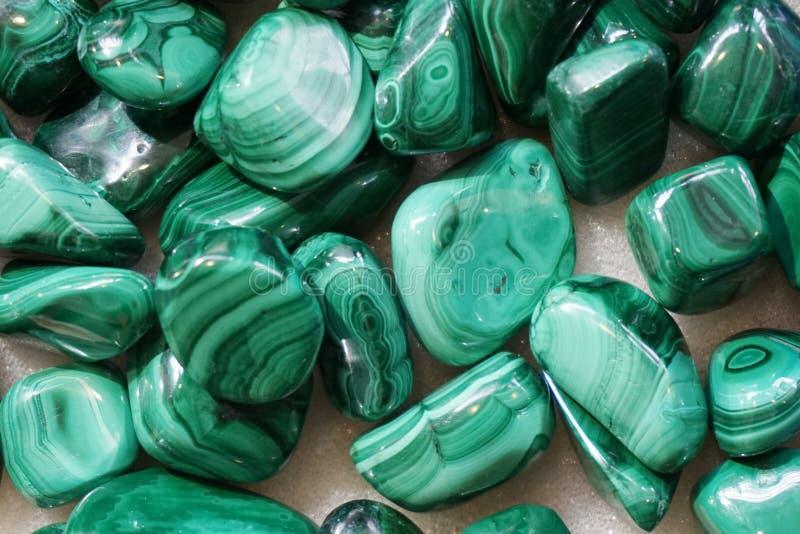 texture de collection de malachite photos stock