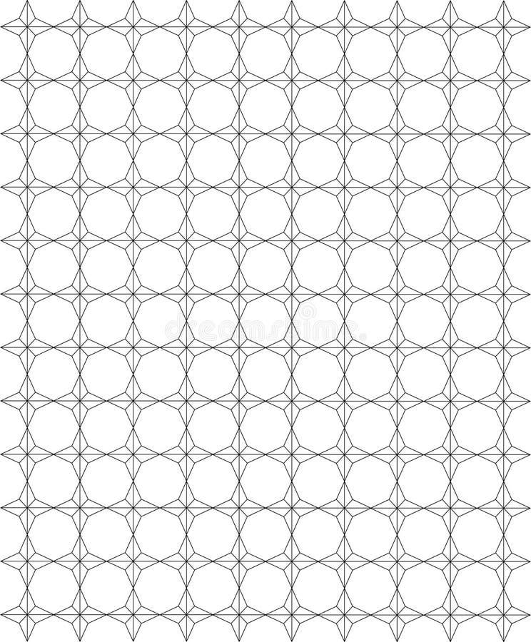 Texture de configuration illustration de vecteur