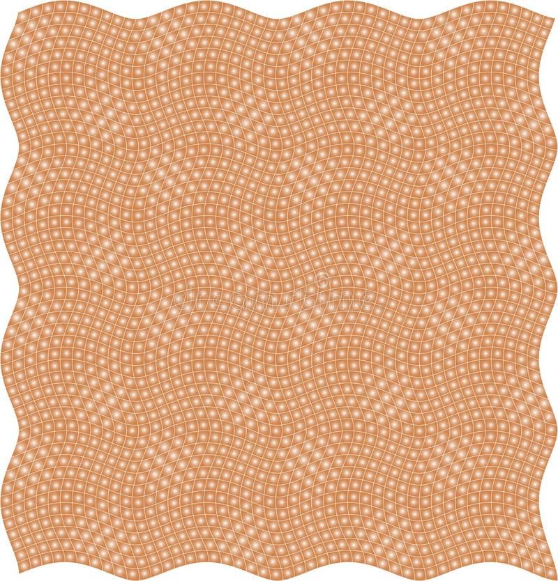 Texture de configuration illustration libre de droits