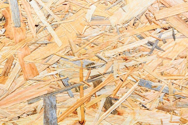 Texture de contreplaqué Conseil en bois d'Osb pour la décoration de fond photos stock