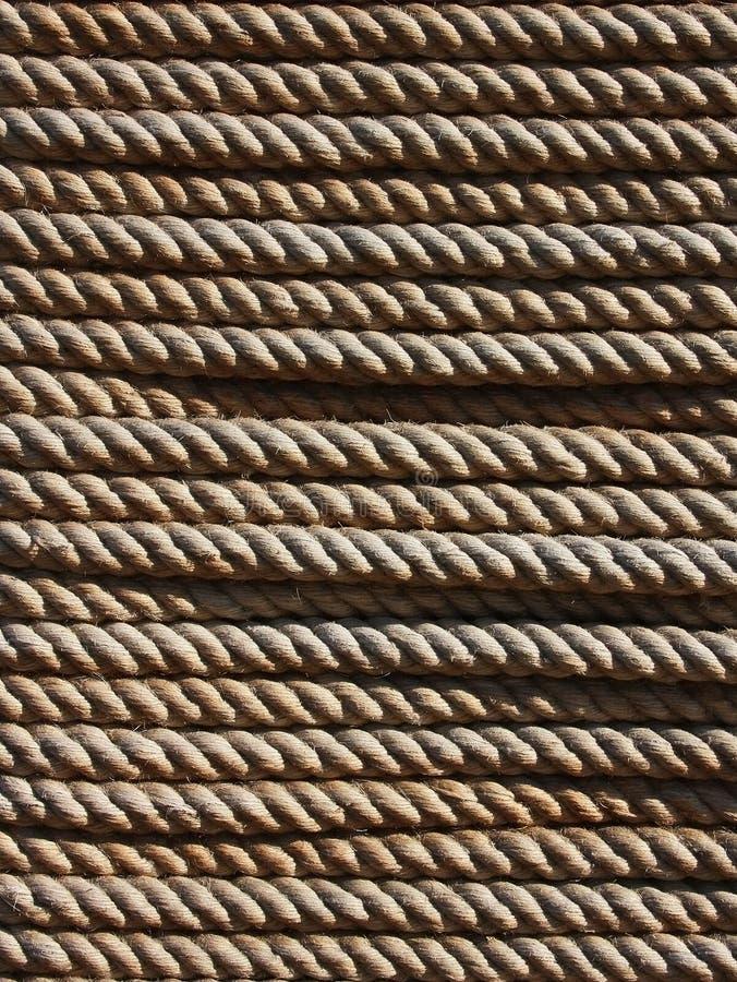 Texture de corde photographie stock libre de droits