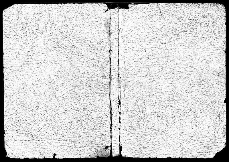 Texture de cuir blanc image libre de droits