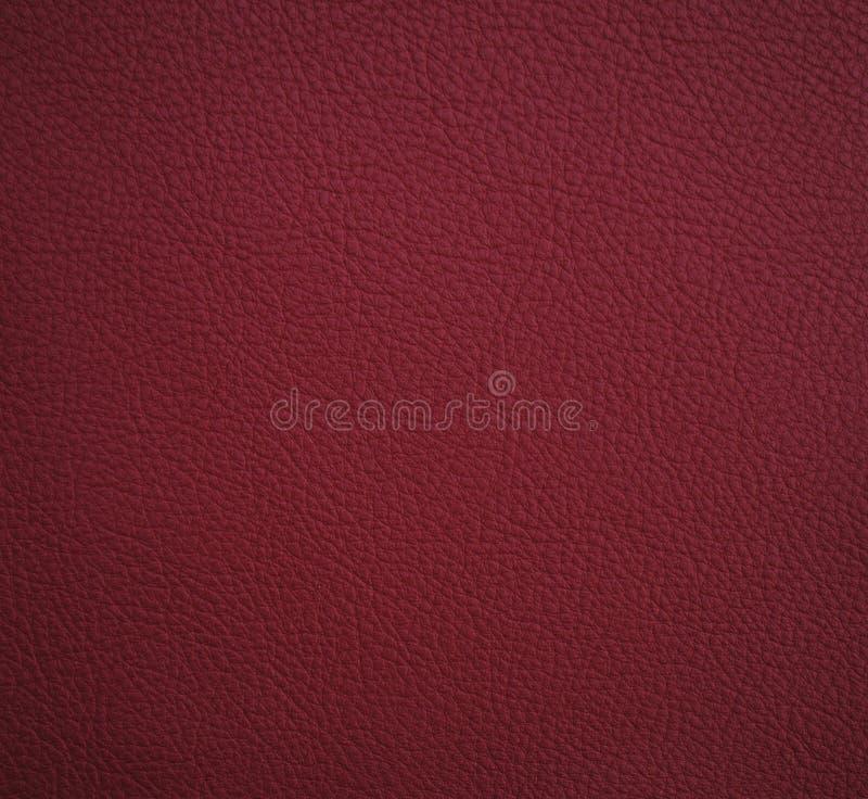 Texture de cuir de Bourgogne pour le fond illustration stock