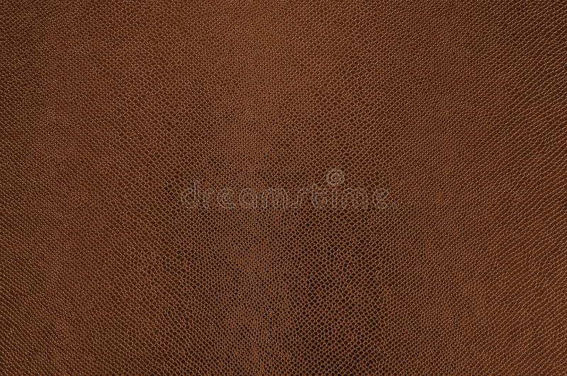 Texture de cuir de Brown comme fond photo libre de droits