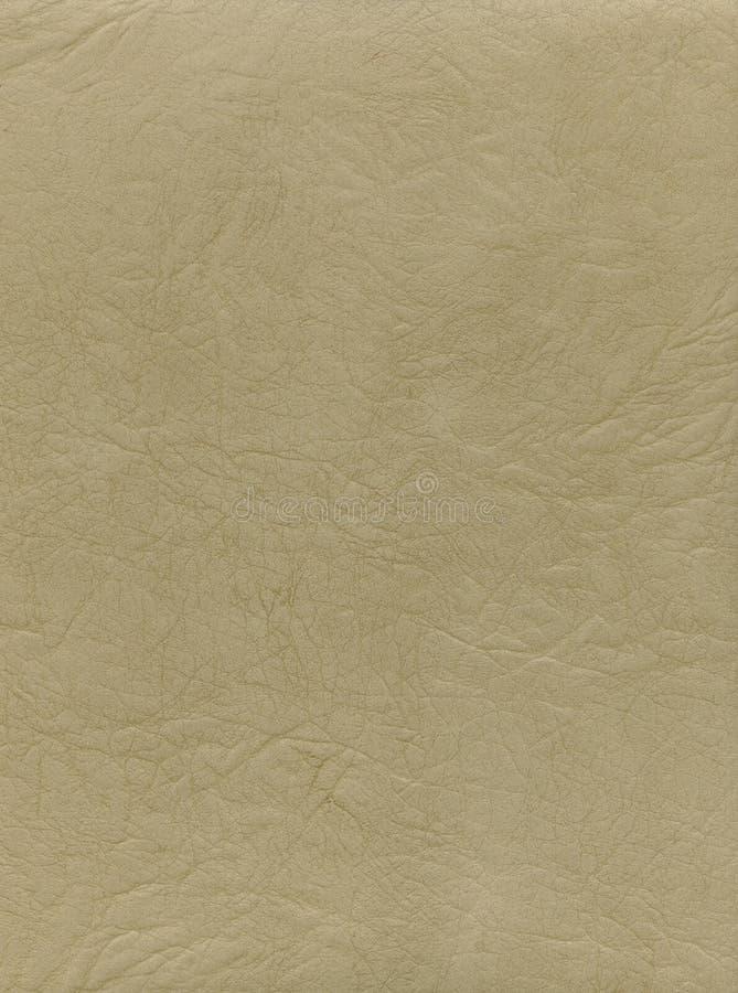 Texture de cuir de lumière normale photos stock