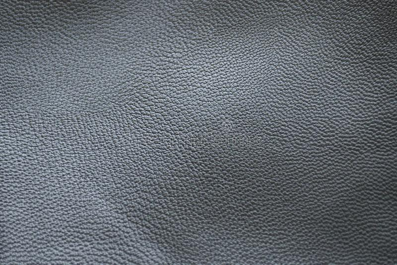 Texture de cuir gris photos stock