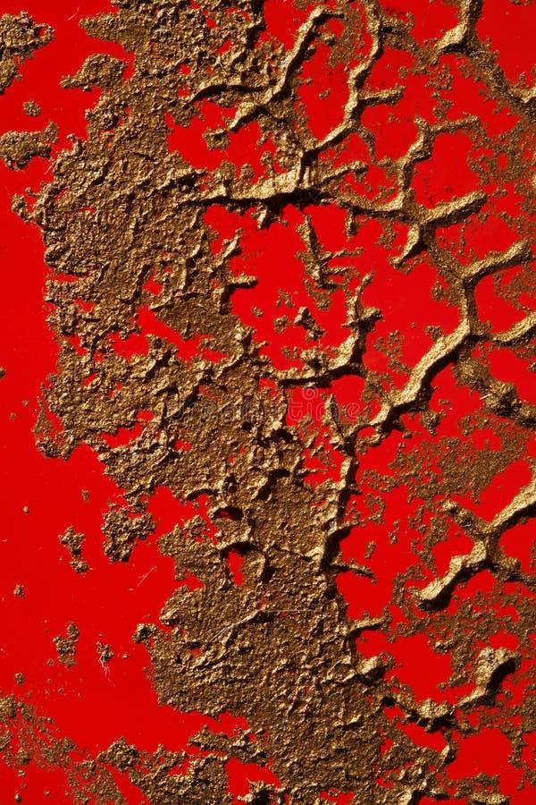Texture de cuivre de peinture sur le rouge photos stock image 4630483 - Peinture effet cuivre ...
