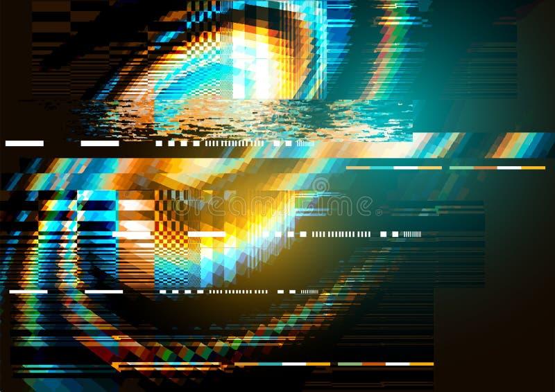 texture de déformation de bruit de problème illustration libre de droits