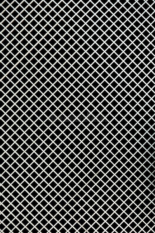 Texture de de plaque métallique image stock