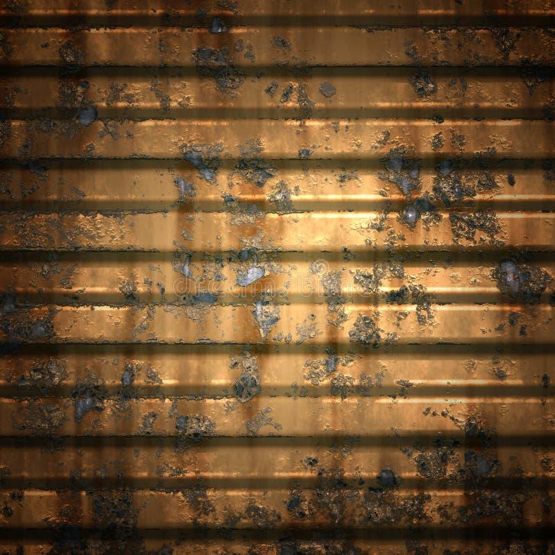 Texture de de plaque métallique images stock