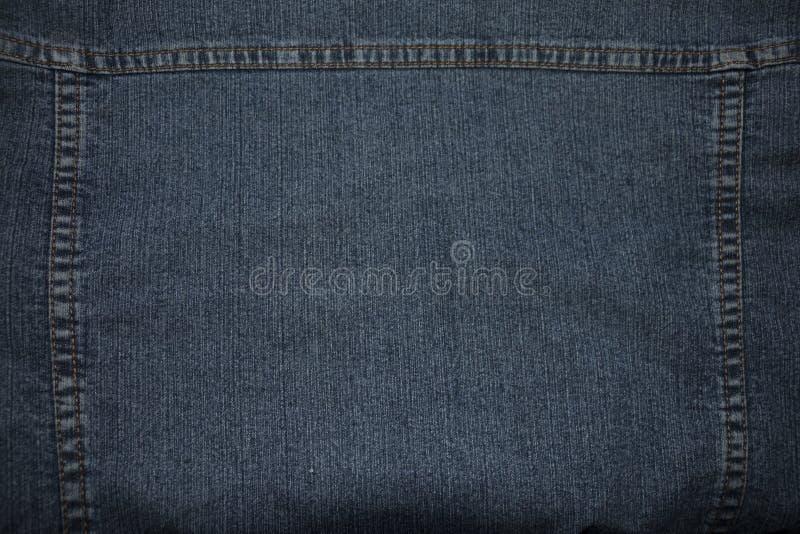 Texture de denim piqué images stock
