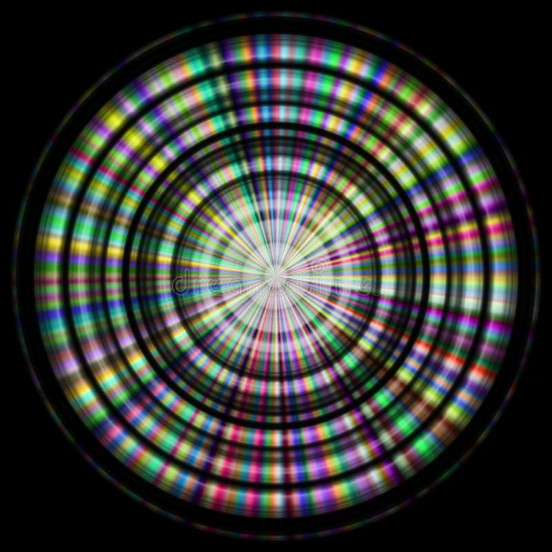 Texture de disque avec plus de couleur illustration libre de droits