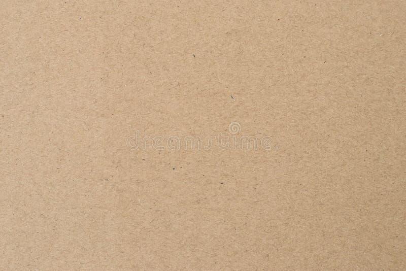Texture de emballage brun clair Parchemin beige, manuscrit Surface naturelle de feuille Vieux fond de papier images stock