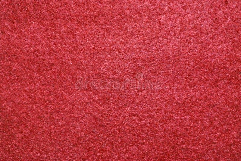 Texture de feutre de rouge images libres de droits